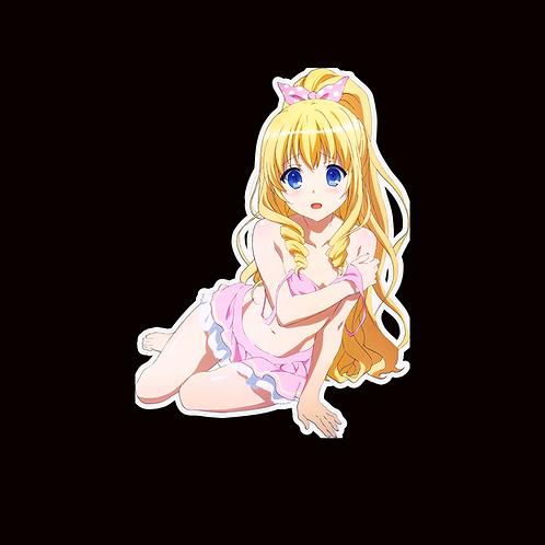Anime Sticker Car Window Decal ARBB060 Amagi Brilliant Park Latifa Fleuranza