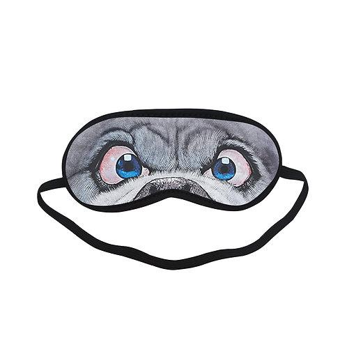 ATEM209 Face dog Cartoon Eye Printed Sleeping Mask
