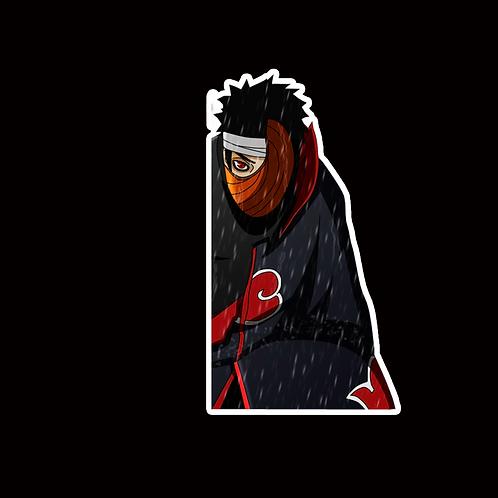 NOR357 Obito Uchiha Naruto Peeking anime sticker Car Decal Vinyl Window