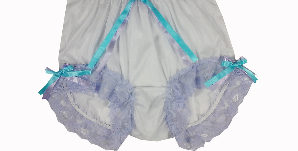 NNH11D108 Handmade Panties Lace Women Men Briefs Nylon Knickers