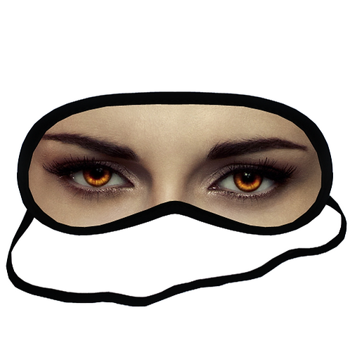 EYM096  Kristen Stewart Twilight Eye Printed Sleeping Mask