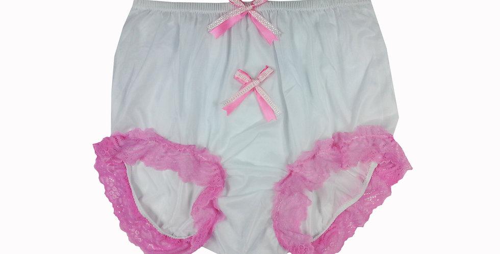 NNH10D08 Handmade Panties Lace Women Men Briefs Nylon Knickers