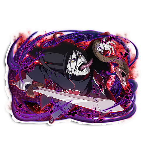 NRT297 Orochimaru Akatsuki legendary Sannin Naruto anime s