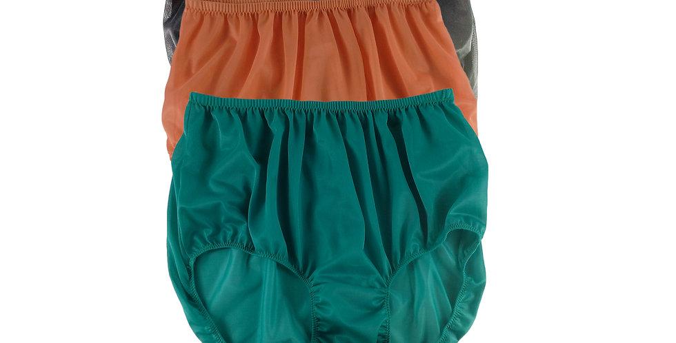 A65 Lots 3 pcs Wholesale Women New Panties Granny Briefs Nylon Knickers
