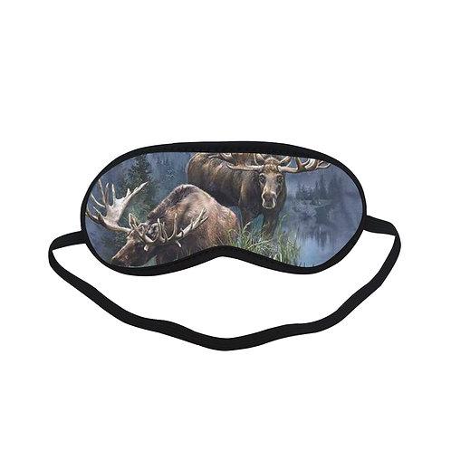ATEM316 moose collage Eye Printed Sleeping Mask