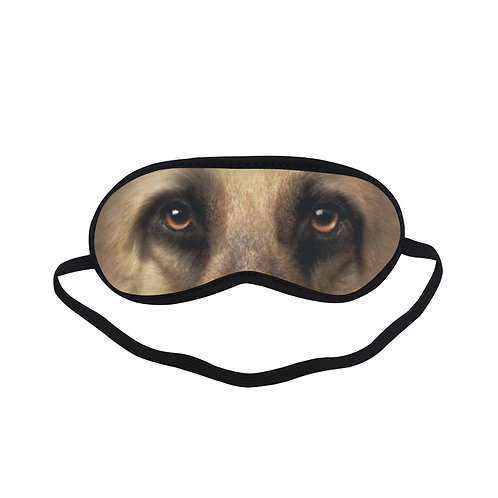 ATEM245 German Shepherd dog Eye Printed Sleeping Mask