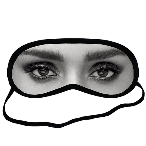 EYM344 Jessica Alba Eye Printed Sleeping Mask