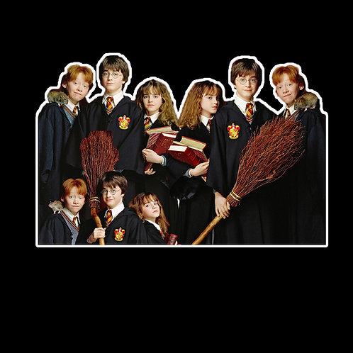 HP29 Harry Potter Hogwarts Stickers Decal Vinyl Car Bumper Window Sticker Laptop