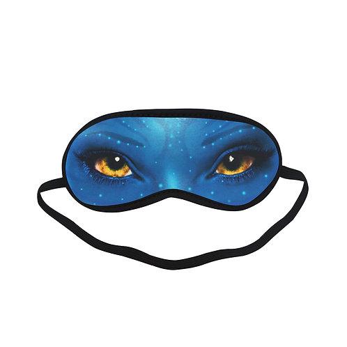SPM098 Avatar Movie Eye Printed Sleeping Mask