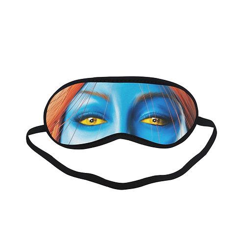 JTEM373 mystique Eye Printed Sleeping Mask