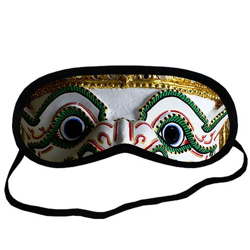 EYM301 Giant Thai Ramayana Eye Printed Sleeping Mask