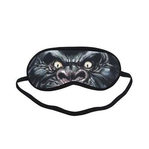 JTEM186 GORILLA GRODD Eye Printed Sleeping Mask