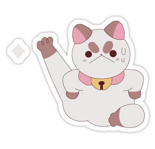 SRBB706 PuppyCat - Bee and PuppyCat anime sticker