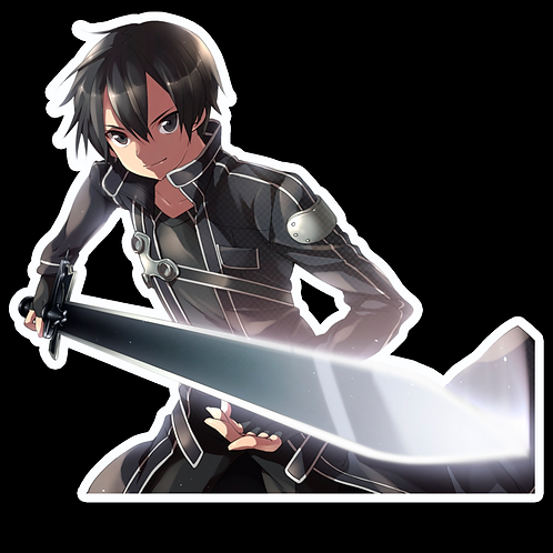 Anime Sticker Car Bumper Truck Window Helmet Decal SSAO82 Sword Art Online