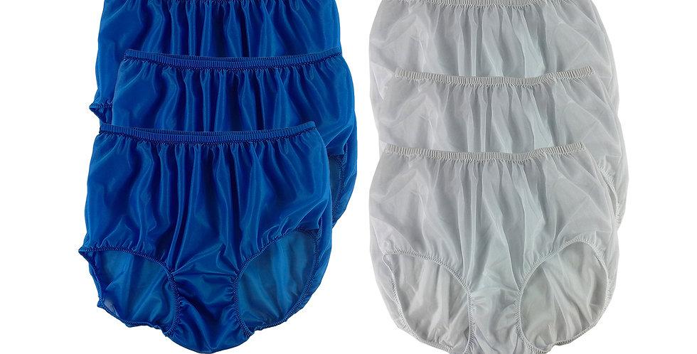 NSD105Lots 6 pcs Wholesale Women New Panties Granny Briefs Nylon Lingerie