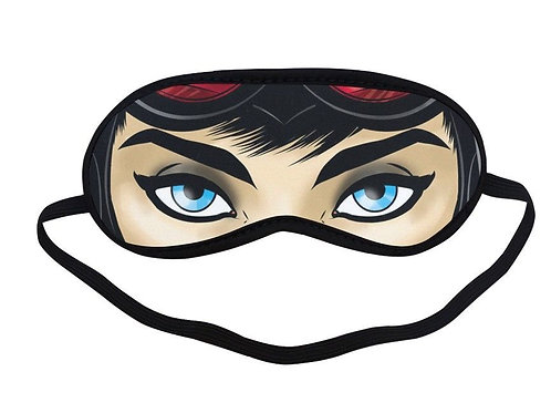 SPM154 catwoman cartoon Eye Printed Sleeping Mask