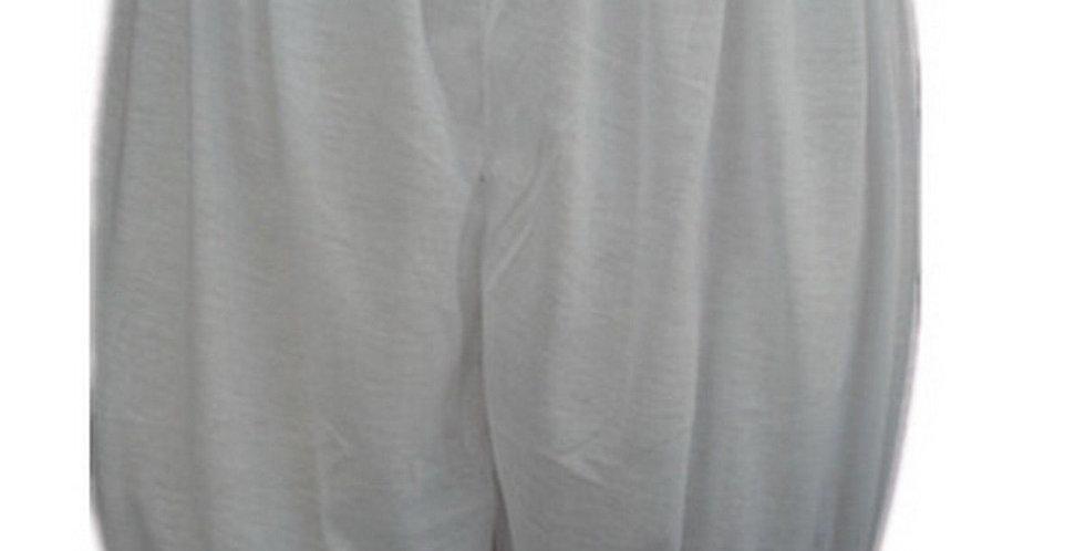 PCPHF3P white Cotton Pettipants Women Slips Lace Lingerie Underwear