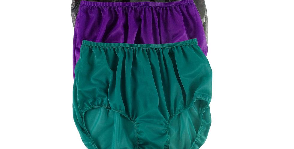 A59 Lots 3 pcs Wholesale Women New Panties Granny Briefs Nylon Knickers
