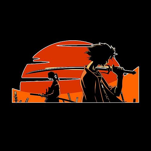 Peeker Anime Peeking Sticker Car Decal PKT27 samurai champloo mugen jin