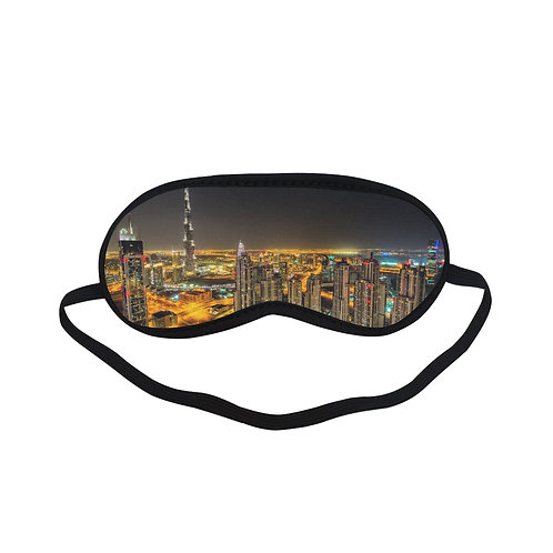 PTEM189 light city Night design Eye Printed Sleeping Mask