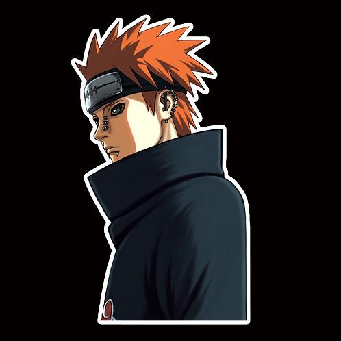 NOR170 Pain Yahiko Naruto Peeking anime sticker Car Decal Vinyl Window