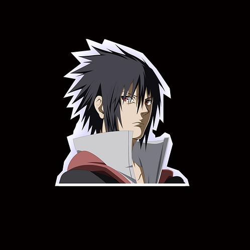 NOR222 Sasuke uchiha Naruto Peeking anime sticker Car Decal Vinyl Window