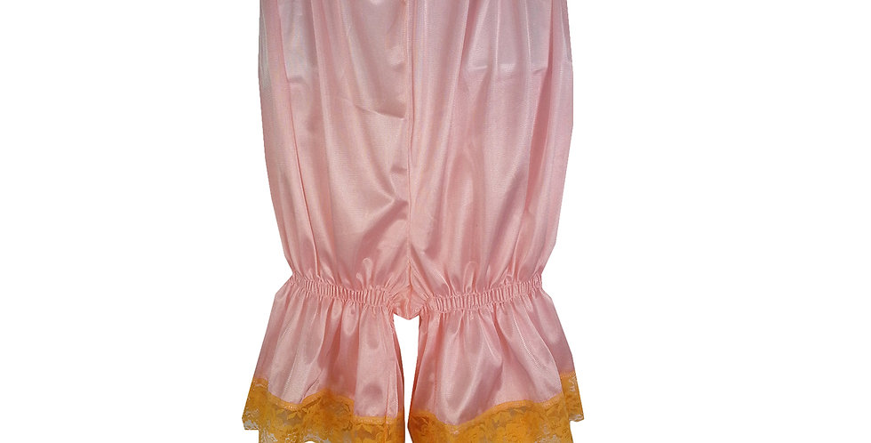 PTPH02D01 Orange New Nylon Pettipants Women Men Slips Lace Lingerie