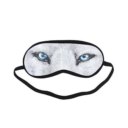 ATEM443 White Wolf Eye Printed Sleeping Mask