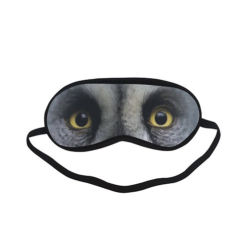 ATEM260 Grey Owl Eye Printed Sleeping Mask