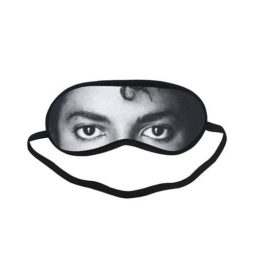 JTEM342 Michael Jackson Eye Printed Sleeping Mask