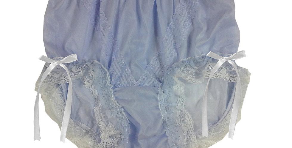 SSH21D15 Fair Purple Handmade Nylon Panties Lace Women Granny Men Briefs