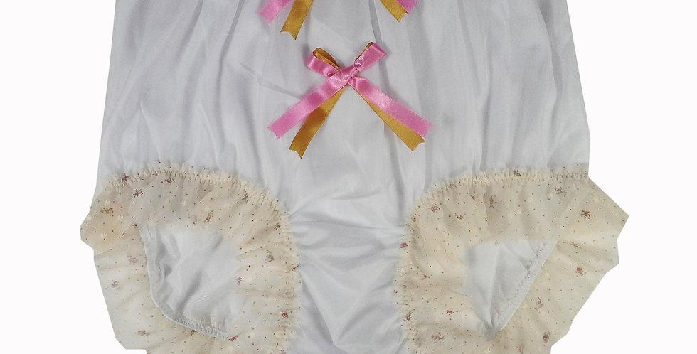 NNH10D34 Handmade Panties Lace Women Men Briefs Nylon Knickers