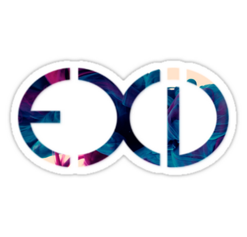 Exid Logo - Smokey SSTK012 K-Pop Music Brand Car Window Decal Sticker