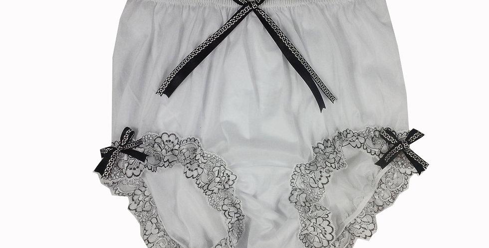 NNH11D135 Handmade Panties Lace Women Men Briefs Nylon Knickers