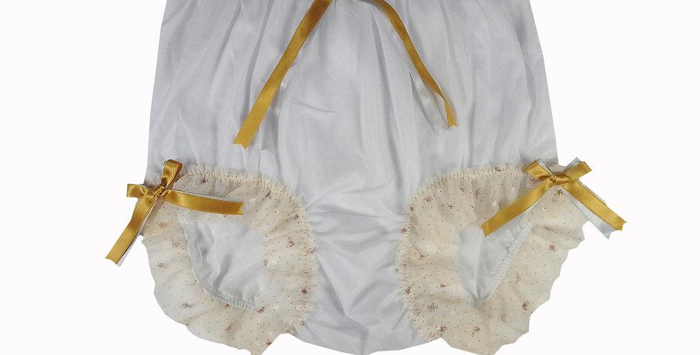 NNH11D52 Handmade Panties Lace Women Men Briefs Nylon Knickers