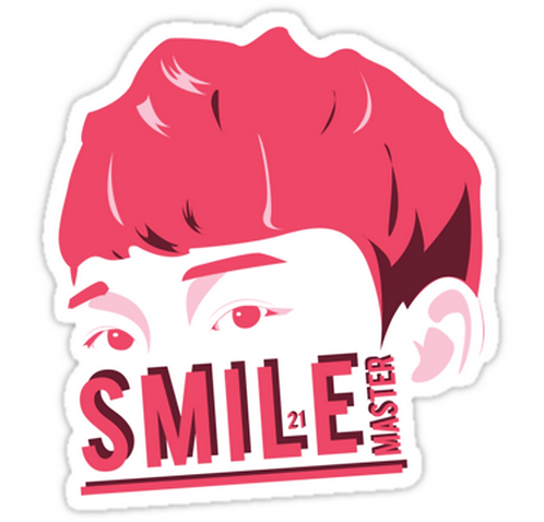 EXO Chen 'Sketch' SSTK084 K-Pop Music Brand Car Window Decal Sticker