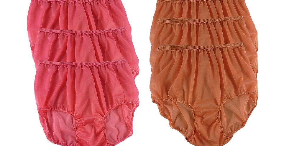 NSD122Lots 6 pcs Wholesale Women New Panties Granny Briefs Nylon Lingerie