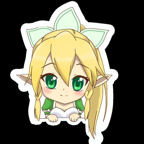 Anime Peeking Sticker Car Window TRUCK Decal PKN114 Sword Art Online Lyfa