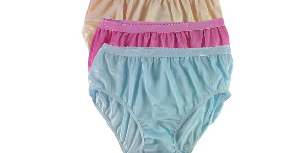 CKTK14 Lots 3 pcs Wholesale New Nylon Panties Women Undies Briefs