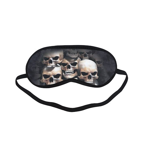 ATEM389 skull crypt   the mountain Eye Printed Sleeping Mask