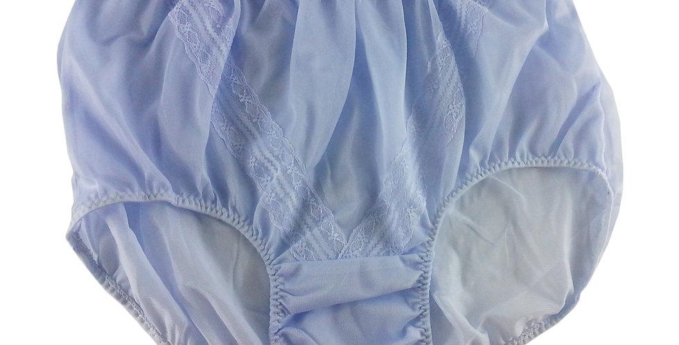 SS06 fair purple Nylon Panties Lace Women Vintage  Granny HI-CUTS Briefs