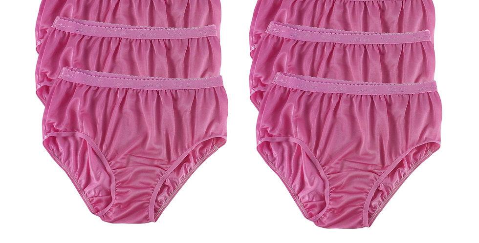CKS Light Pink Lots 6 pcs Wholesale New Nylon Panties Women Undies Briefs