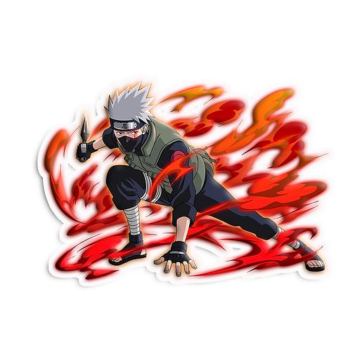 NRT119 Hatake Kakashi Copy Ninja Shinobi Naruto anime sti