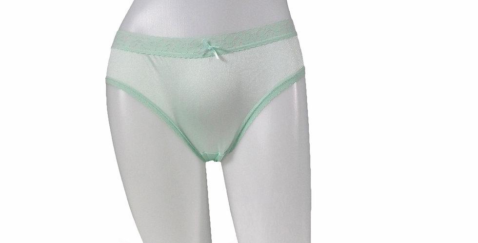 NQSL03 green New Nylon Lace Panties Women Knickers Bikini