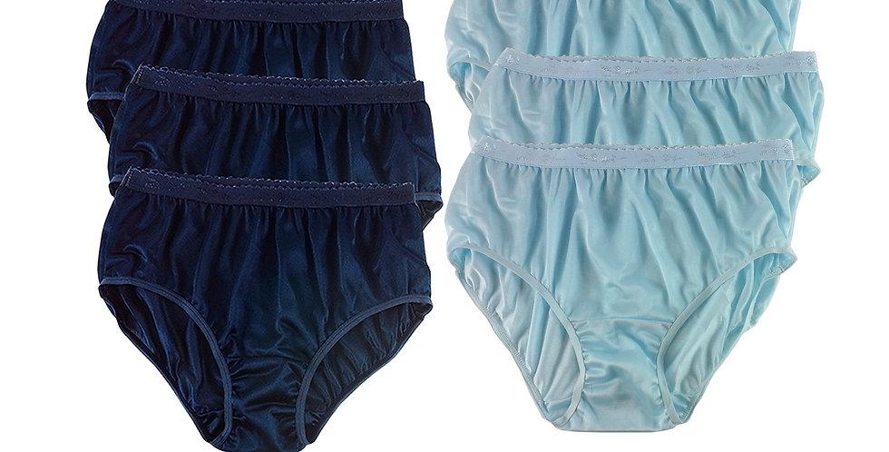 CKSL04 Lots 6 pcs Wholesale New Nylon Panties Women Undies Briefs