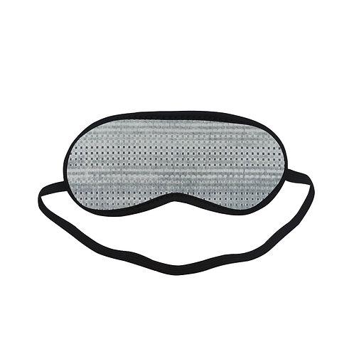 PTEM456 Modern Gray geometric Eye Printed Sleeping Mas