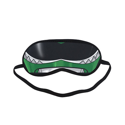 SPM204 Green Ranger Eye Printed Sleeping Mask