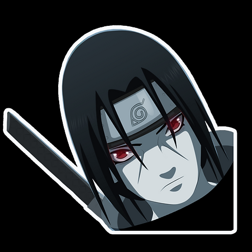 Peeker Anime Peeking Sticker Car Window Decal PK284 Naruto Itachi Uchiha