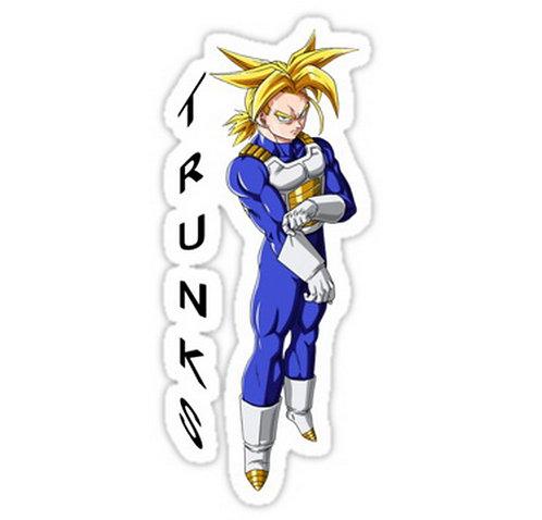 SRBB0610 trunks vegeta dragon Ball Z anime sticker