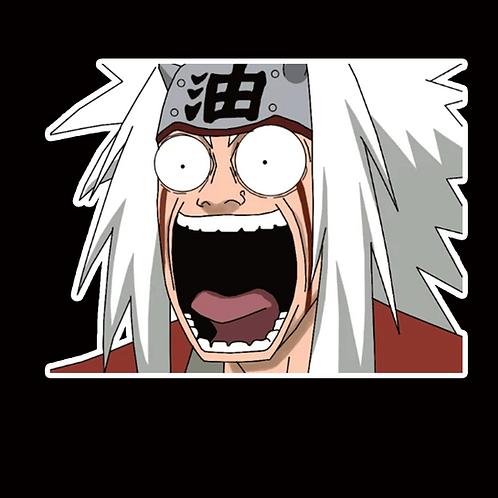 NOR297 Jiraiya Naruto Peeking anime sticker Car Decal Vinyl Wiindow